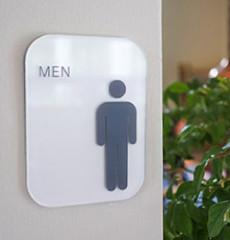 Big / 빅 / 전면형 화장실 표지판