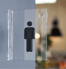 Casper / 캐스퍼 / 돌출형 화장실 표지판