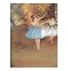 드가 명화그림 - 무대위의두댄서(캔버스화)