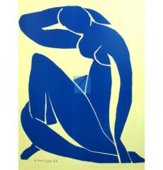 마티스 명화그림 - Blue Nude(캔버스화)