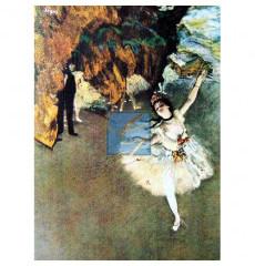 드가 명화그림 - 무대위의 발레리나(캔버스화)